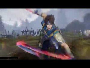 Warriors Orochi 4 - Yue Jin Unique Weapon