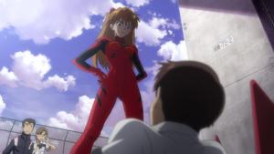 Asuka meets Shinji (Rebuild)