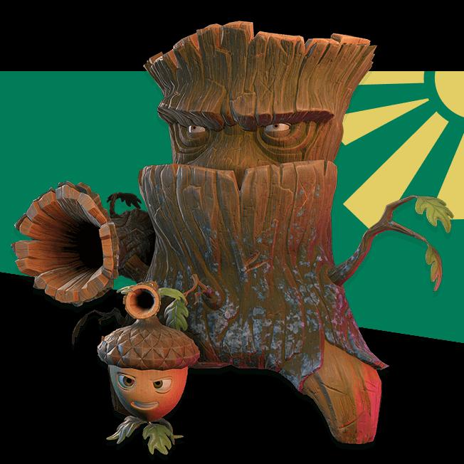 Acorn and Oak