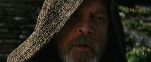 Luke watches Rey