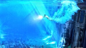 Rey underwater 3