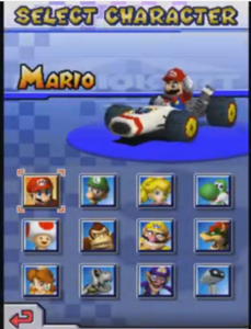 Mario Kart DS - All Characters