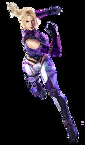 Nina Williams - Full-body CG Art Image - Tekken 6