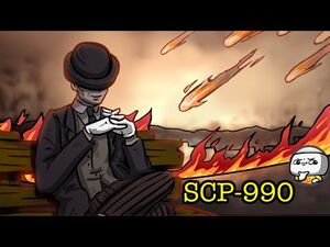 SCP-990 Dream Man (SCP Animation)