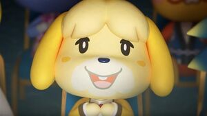 Animal crossing new horizons isabelle cameo 2