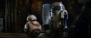 BB-8 and R2-D2 TFA