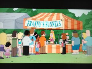 Francine and Hayley are at Franny's Funnels