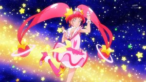 Southern Cross Shot! Cure Star with her Twinkle Stick