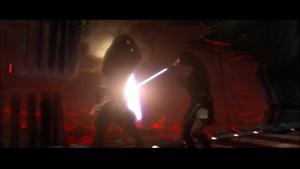 Vader parries