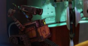 WALL-E facing AUTO