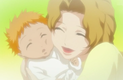 Baby Ichigo and Masaki
