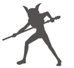 Caprikid (silhouette) Square