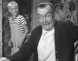 Mr Wilson In Dennis The Menace In Black and White Classics