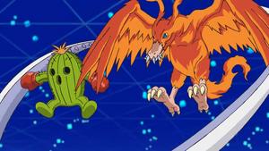 Togemon and Birdramon