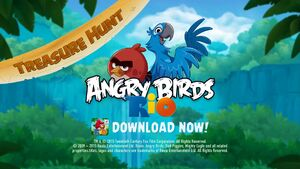 Angry Birds Rio Treasure Hunt