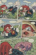 Julie-Su meets Knuckles for the first time