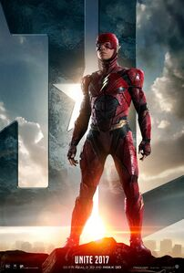 Justice League - Flash character poster
