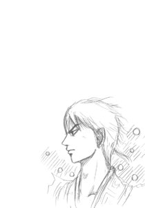 Kingdom v27's Shin sketch