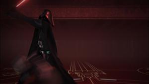 Vader sways