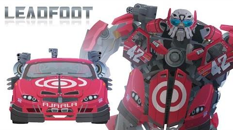 Wreckers LEADFOOT - Short Flash Transformers Series