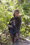 Christian Serratos as Rosita Espinosa in The Walking Dead 56