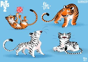 Hu - The Secret Life of Pets 2 concept art 5