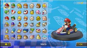 Mario Kart 8 Deluxe - All Characters