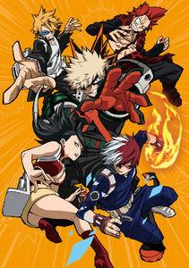 My Hero Season 3 Blu-Ray Box 6 Cover