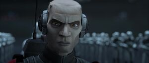 BB-Echo's reaction on the formation of Galactic Empire