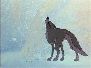Balto's heroic wolf howl