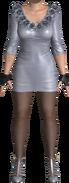 DOA5 - Helena Douglas (silver minidress)