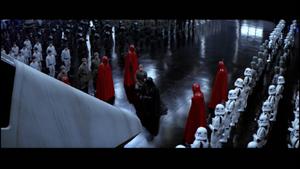 Darth Vader hangar bow