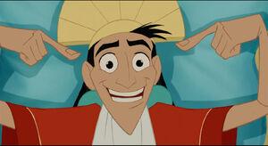 Kuzco's charming smile
