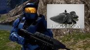 Caboose Hugs Bison