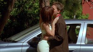 Jon Arbuckle and Liz Wilson's kiss