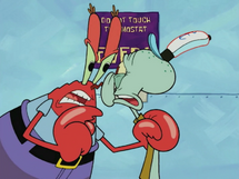 Mr. Krabs Gets Mad at Squidward To Turn On The 63 Degrees