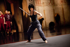 Rinko Kikuchi as Mako Mori in Pacific Rim 32121