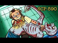 SCP-590 He Feels Your Pain (SCP Animation)
