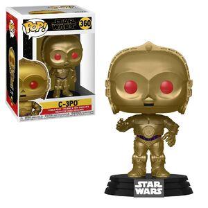 C-3PO red eyes POP