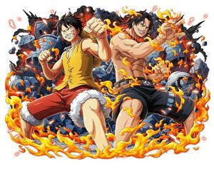 Luffy and Ace (One Piece)