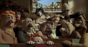 Wallace and Gromit tcotwr crowd Screenshot 1