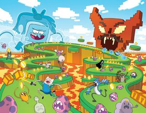 Adventure Time X Regular Show 3