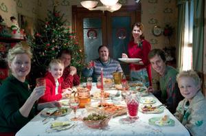 Arables and Zuckermans Christmas dinner