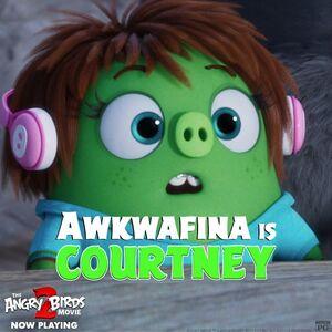 Awkwafina is Courtney