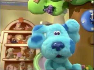 Blue's clues blue's room blue 432435