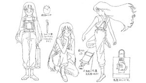 Character concept art for Sailor Moon 2