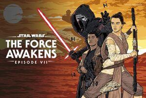 Disneyplus - May 4th - The Force Awakens Art
