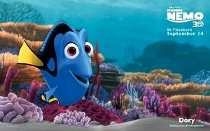 Dory Finding Nemo 3D