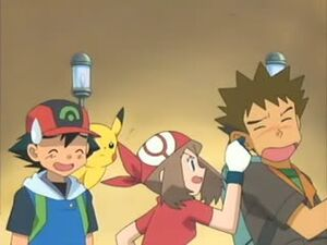 May grabs Brock