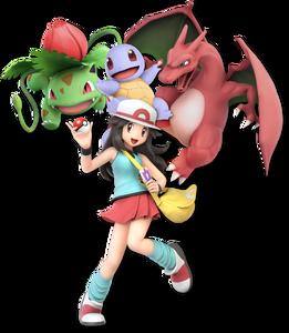 Pokemon Trainer Palette SSBU 2